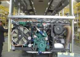 Engine bay insulation