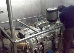 Geperforeerde opbouw machinekamer 3