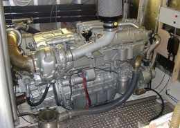 Motor machinekamer isolatie maritieme sector